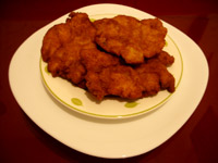 Filet de poulet à la chapelure
