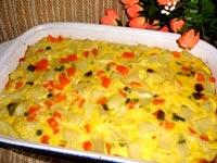 Clafoutis aux légumes