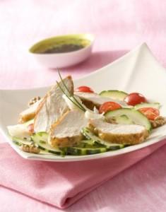 salade supreme plancha
